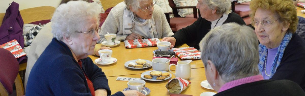 sherburn visiting scheme afternoon social tuesday