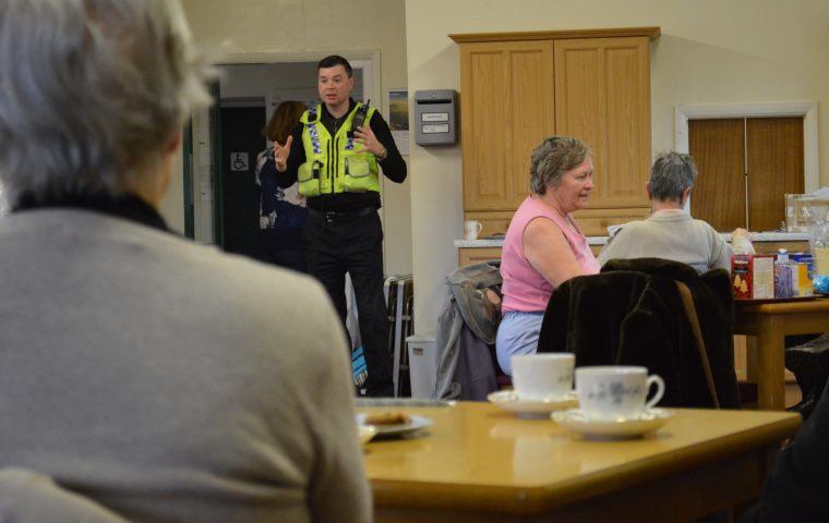 A Visit From the Local Community Support Officer
